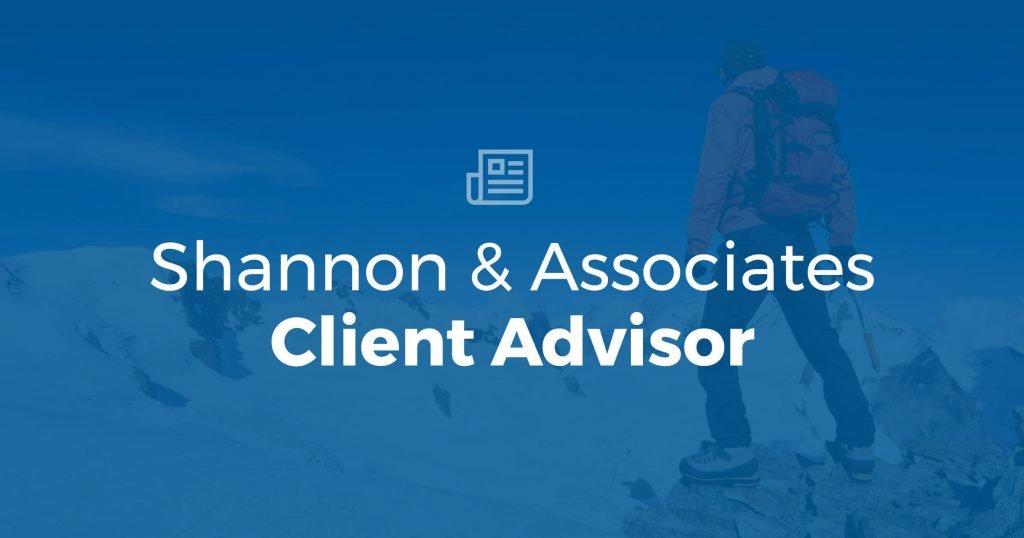 Client Advisor – Shannon & Associates LLP | Kent, WA