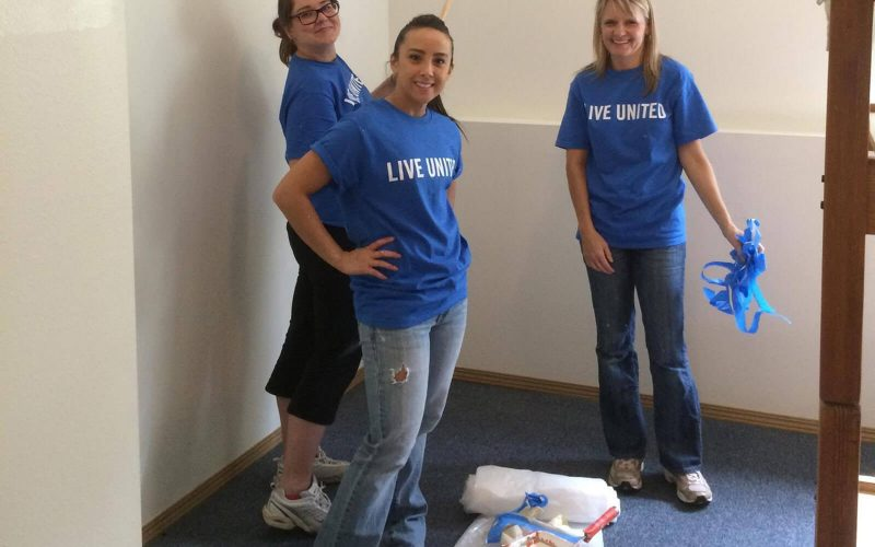 Day of Caring Painting Project – Shannon & Associates CPAs Kent, WA