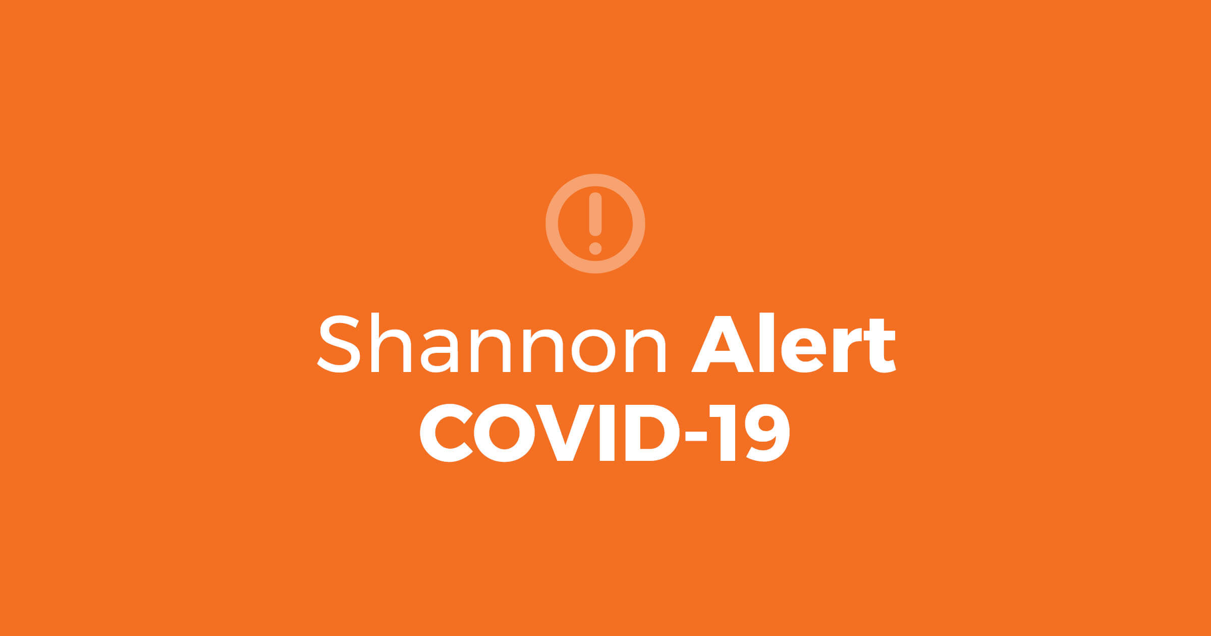 Shannon Alert – COVID-19 Economic Impact Payments