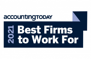 Accounting Today 2021 Best Firm – Shannon & Associates, LLP, Kent WA